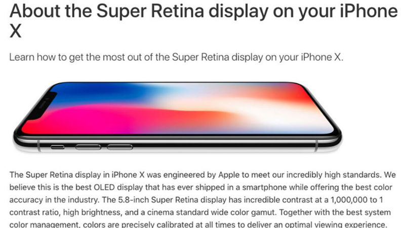 Apple alerta cambio de tono y leves quemaduras en su iPhone X