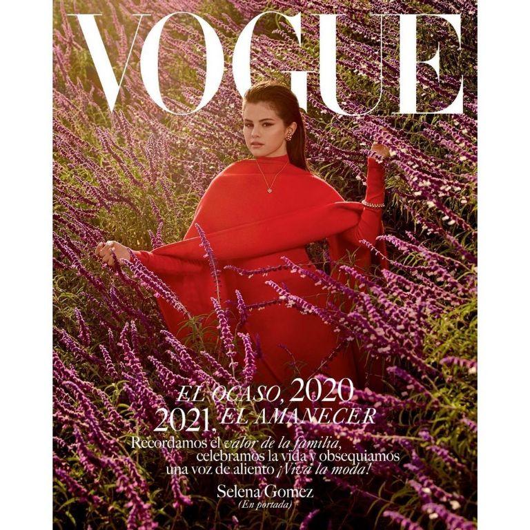 Selena Gomez Se Convierte En La Portada De Vogue Por Primera Vez Gluc Mx