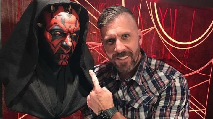 Se filtra video íntimo de Ray Park, el actor de Darth Maul en Star Wars