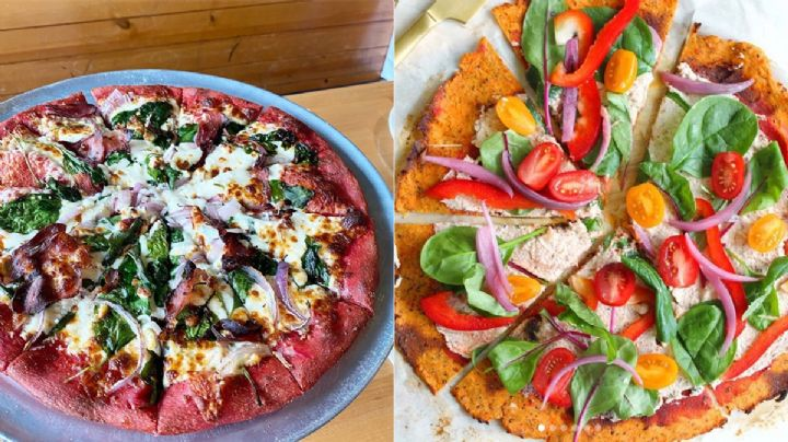 Tres alternativas de Pizza Crust que son healthy
