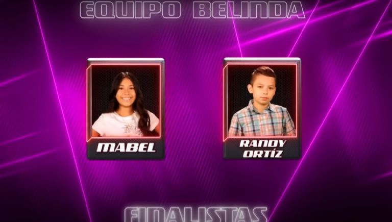 Finalistas de La Voz Kids