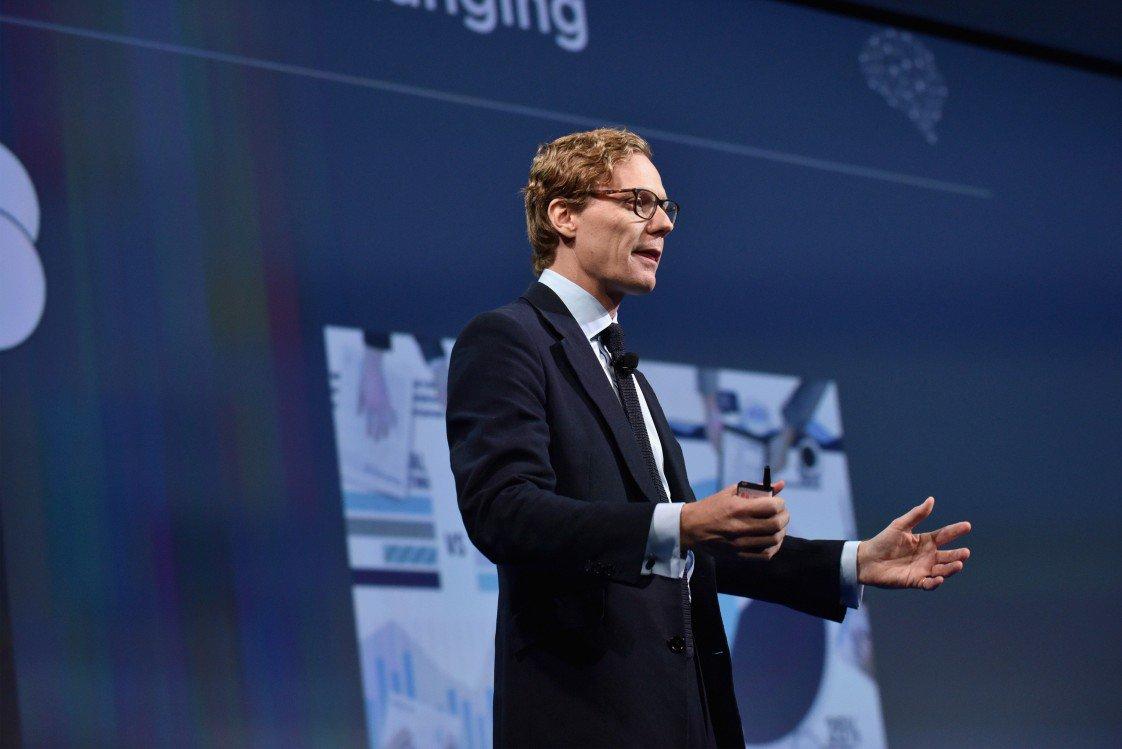 Alexander Nix, director ejecutivo de Cambridge Analytica.
