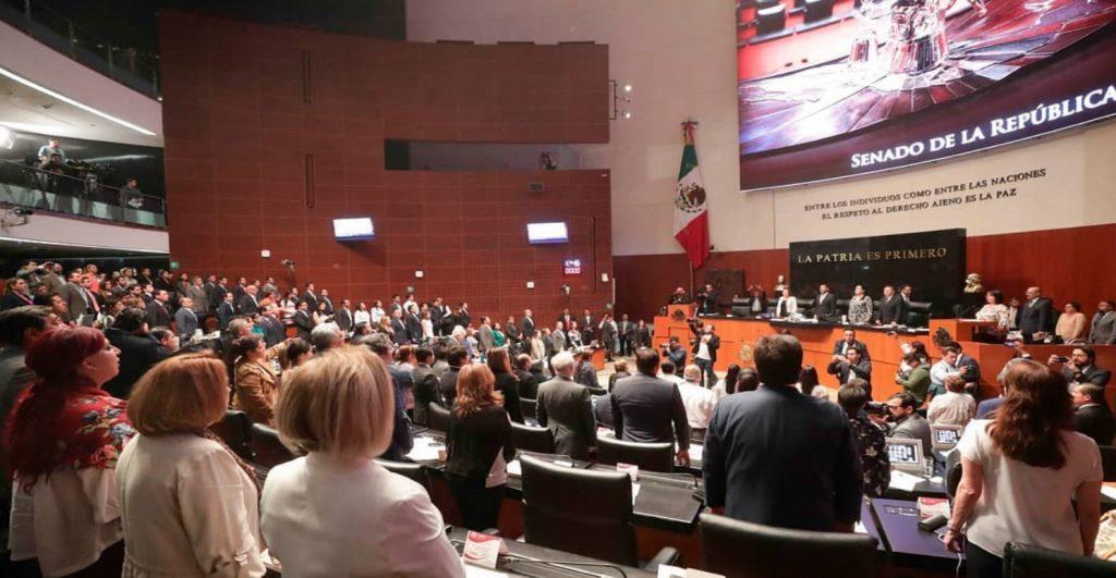 Congreso mexicano senadores diputados