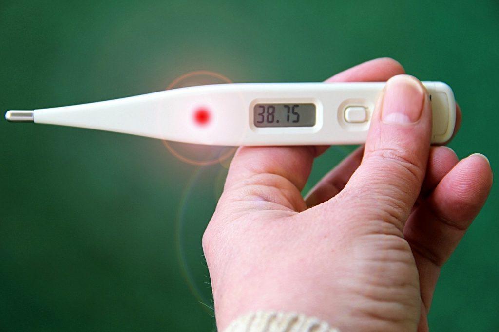 gripa fiebre síntomas
