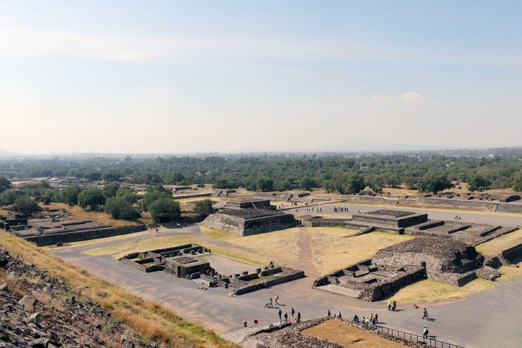 Teotihuacán cierra COVID-19